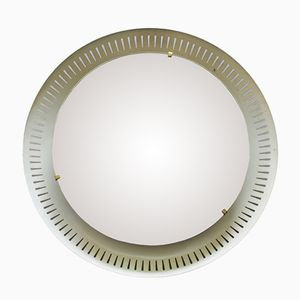 Mid-Centutry Italian Mirror with Back Light