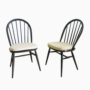 Windsor Chairs by Lucian Ercolani for Ercol, 1970s, Set of 2