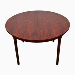 Table de Salle à Manger à Rallonge Vintage en Palissandre de McIntosh
