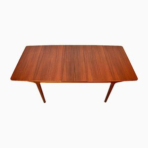 Mid-Century T5 Teak Extendable Dining Table from McIntosh