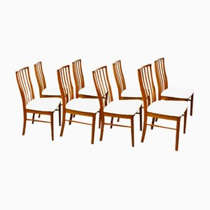 Mid-Century Teak Dining Chairs from McIntosh, Set of 8