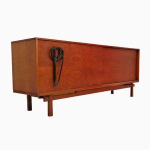 Enfilade Vintage en Palissandre avec Grips Rainurés de Belform