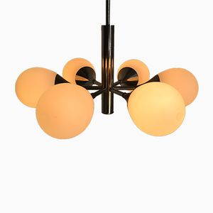 Italian Chandelier with Six Light Points, 1960s