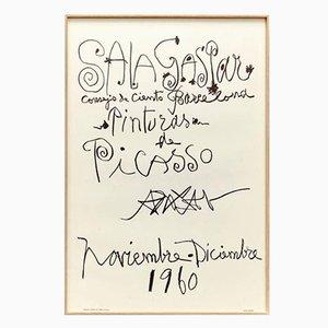 Lithographie Authentique Picasso par Pablo Picasso, 1960