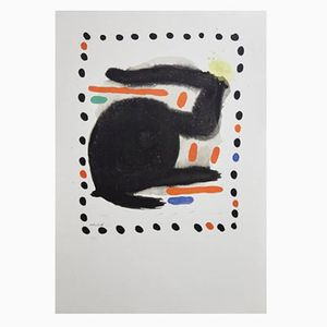 Lithography by Joan Miro, 1953