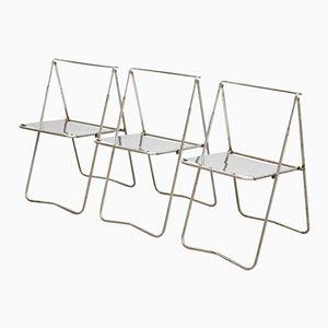 Sedie pieghevoli di Rafael Carreras Puigdengolas, anni '60, set di 3