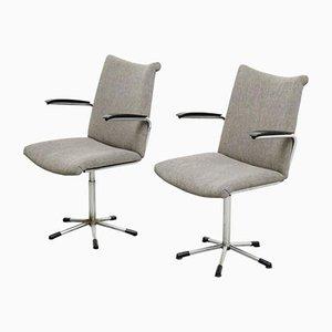 Vintage Desk Chairs by Martin De Wit for De Wit Schiedam, Set of 2