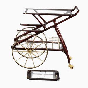 Chariot de Bar Mid-Century par Cesare Lacca, Italie, 1950s