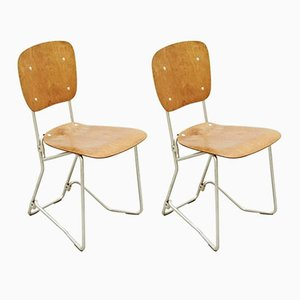 Chairs by Armin Wirth for Aluflex, 1940, Set of 2