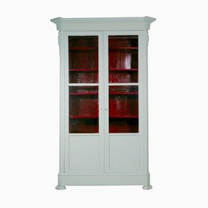 Antique French Light Green Armoire