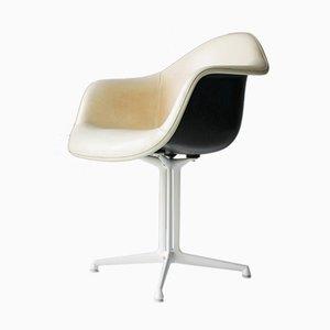 Vier Kunststoff DAL Sessel von Eames für Miller