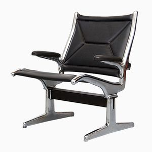 Tandem Sling Chair by Charles & Ray Eames for Herman Miller, 1962