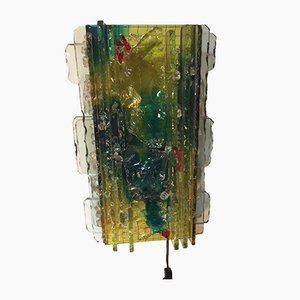 Vintage Multicolored Wall Light from Raak