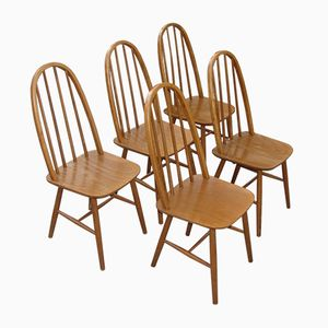 Polish Model 9860 Chairs, 1980s, Set of 5