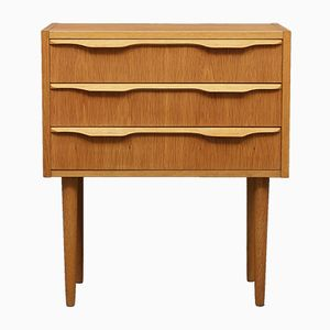 Small Danish Oak Dresser, 1970s
