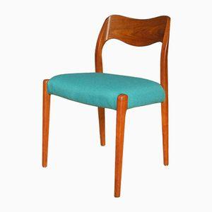 Vintage Modell 71 Stuhl von Niels O. Møller für J.L. Møllers