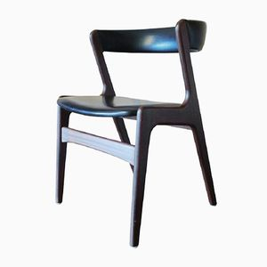 Geschwungener Dänischer Stuhl aus Teak, 1960er