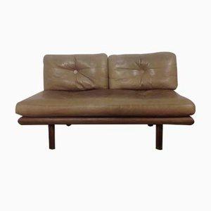 Leather Sofa by Peter Hvidt & Orla Mølgaard-Nielsen for Kill International, 1964