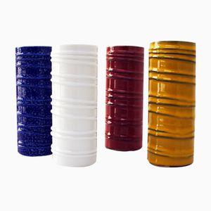 Vintage Vasen von Melitta, 4er Set