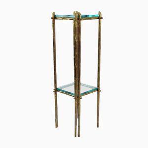 Faux Bamboo Pedestal, 1970s