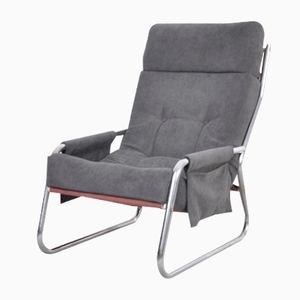 Mid-Century Sling Lounge Chair