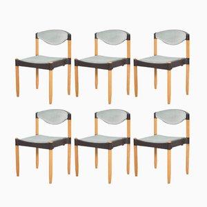 Strax Stühle von Hartmut Lohmeyer für Casala, 1981, 6er Set