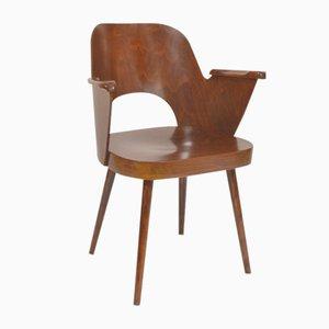 Chaise en Contreplaqué par Oswald Heardtl pour Ton, 1960s