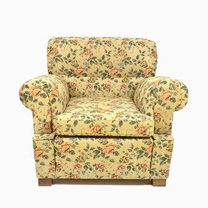 Vintage Armchair with Floral Pattern
