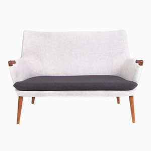 Vintage Model AP 20 Two-Seater Sofa by Hans J. Wegner for AP-Stolen