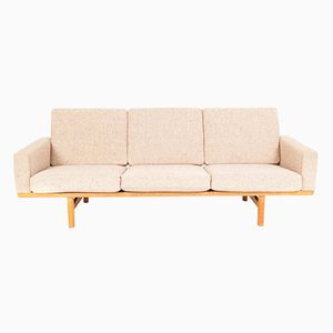Vintage Model GE 236/3 Sofa by Hans J. Wegner for Getama