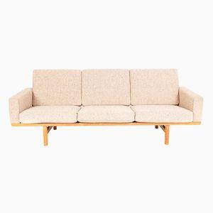 Vintage Modell GE 236/3 Sofa von Hans J. Wegner für Getama