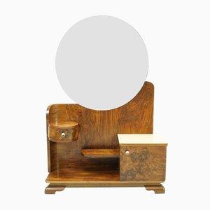 Meuble de Rangement avec Miroir Art Déco, 1930s