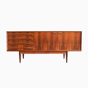 Large Rosewood Paola Cabinet by Oswald Vermaercke for V-form, 1959