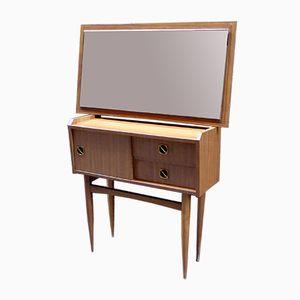 Formica Vanity Table & Mirror, 1960s