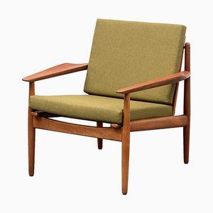 Dänischer Teak Sessel von Arne Vodder für Glostrup, 1960er