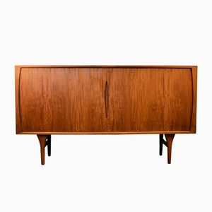 Mid-Century Teak Highboard by Henning Kjærnulf for Bruno Hansen