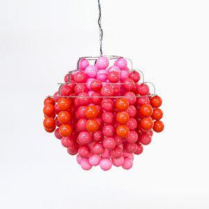 Grande Lampe Fun Type H Ball par Verner Panton pour J. Lüber CH, 1970s