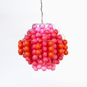 Large Fun Type H Ball Lamp by Verner Panton for J. Lüber CH, 1970s