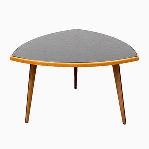 Table Basse avec Plateau en Verre, 1950s