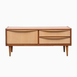 Teak and Ash Bi-Colored Commode, 1960s
