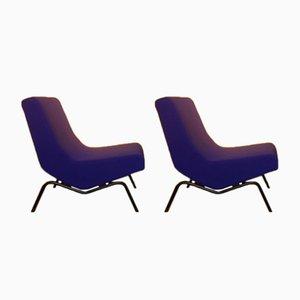 Vintage CM194 Sessel von Pierre Paulin für Thonet, 2er Set