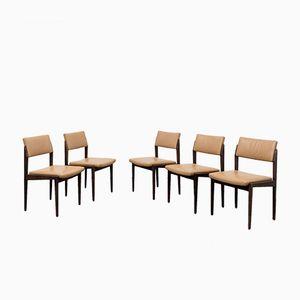 Model 641P Chairs by Rudolf Glatzel for Thonet, 1960s, Set of 5