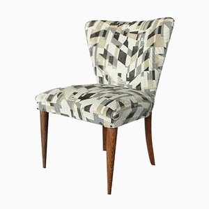 Kleiner Italienischer Stuhl mit Geometrischen Mustern, 1958