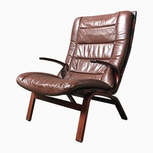 Vintage Bentwood Lounge Chair from Farstrup Møbler, 1970s