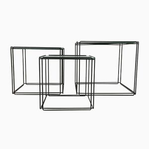 Vintage Isocele Nesting Tables by Max Sauze for Atrow