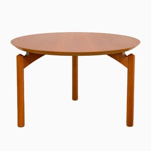 Round Symphony Coffee Table by Grum Troels Schwensen for Poul Jeppesen