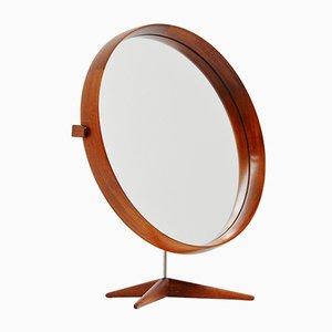 Mid-Century Swedish Table Mirror by Uno & Osten Kristiansson for Luxus
