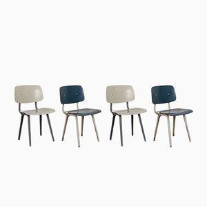 Dutch Revolt Chairs by Friso Kramer for Ahrend De Cirkel, 1960s, Set of 4