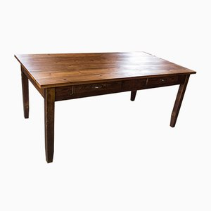 Antique Dining Table in Pine