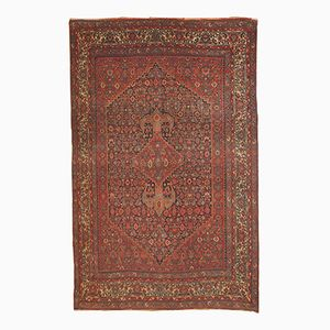 Antique Handmade Persian Bidjar Rug, 1880s